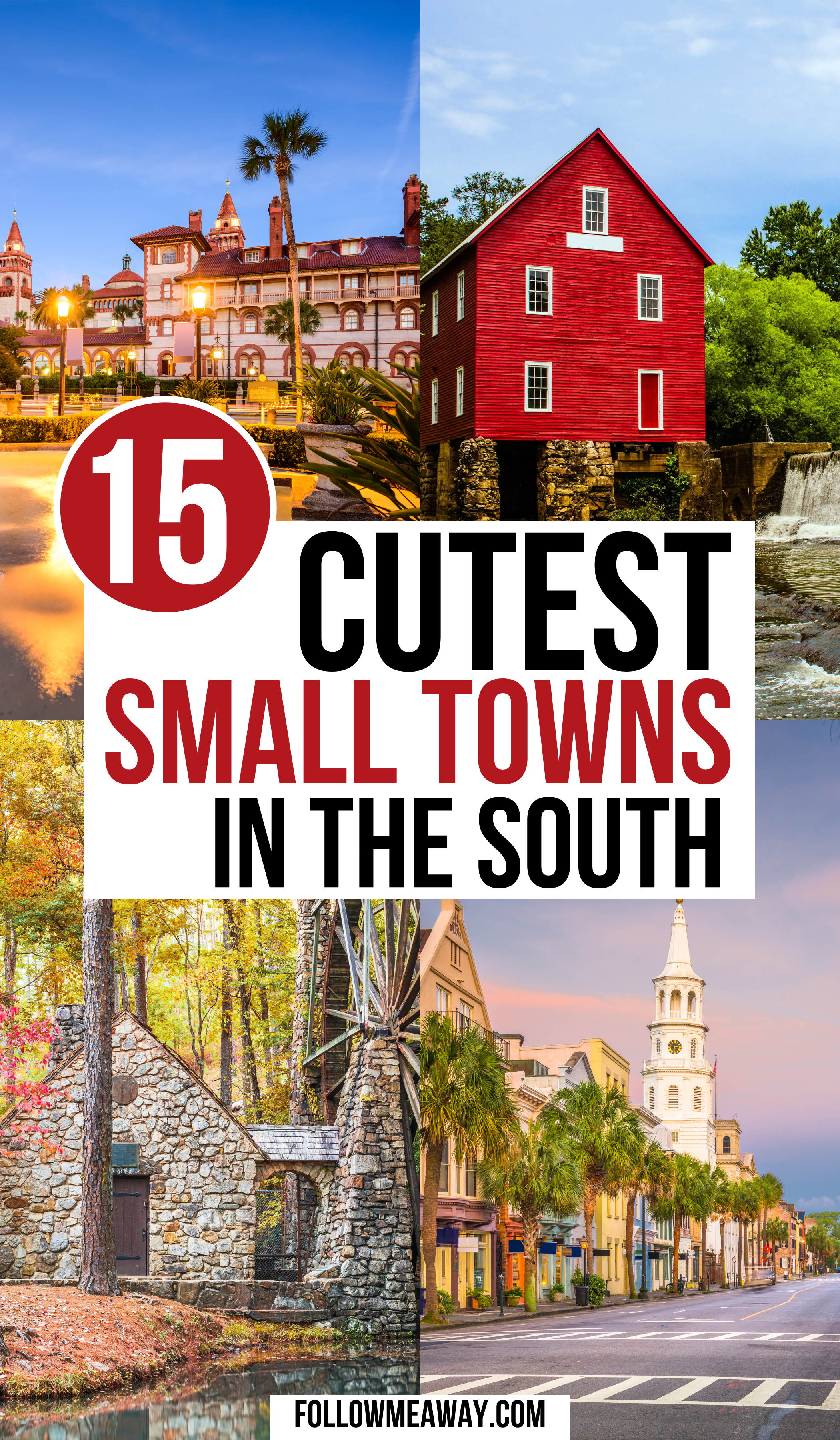 15 Cutest Small Towns in The South, USA | cutest small towns in the south | small towns in the south | beautiful places in the us small towns | southern small town | best southern small towns | southern small town getaways | travel in the southern united states | travel in the south usa | weekend trips in the south | best places to visit in the south usa | best towns in the south | #smalltownsinthesouth #getawaysinthesouth