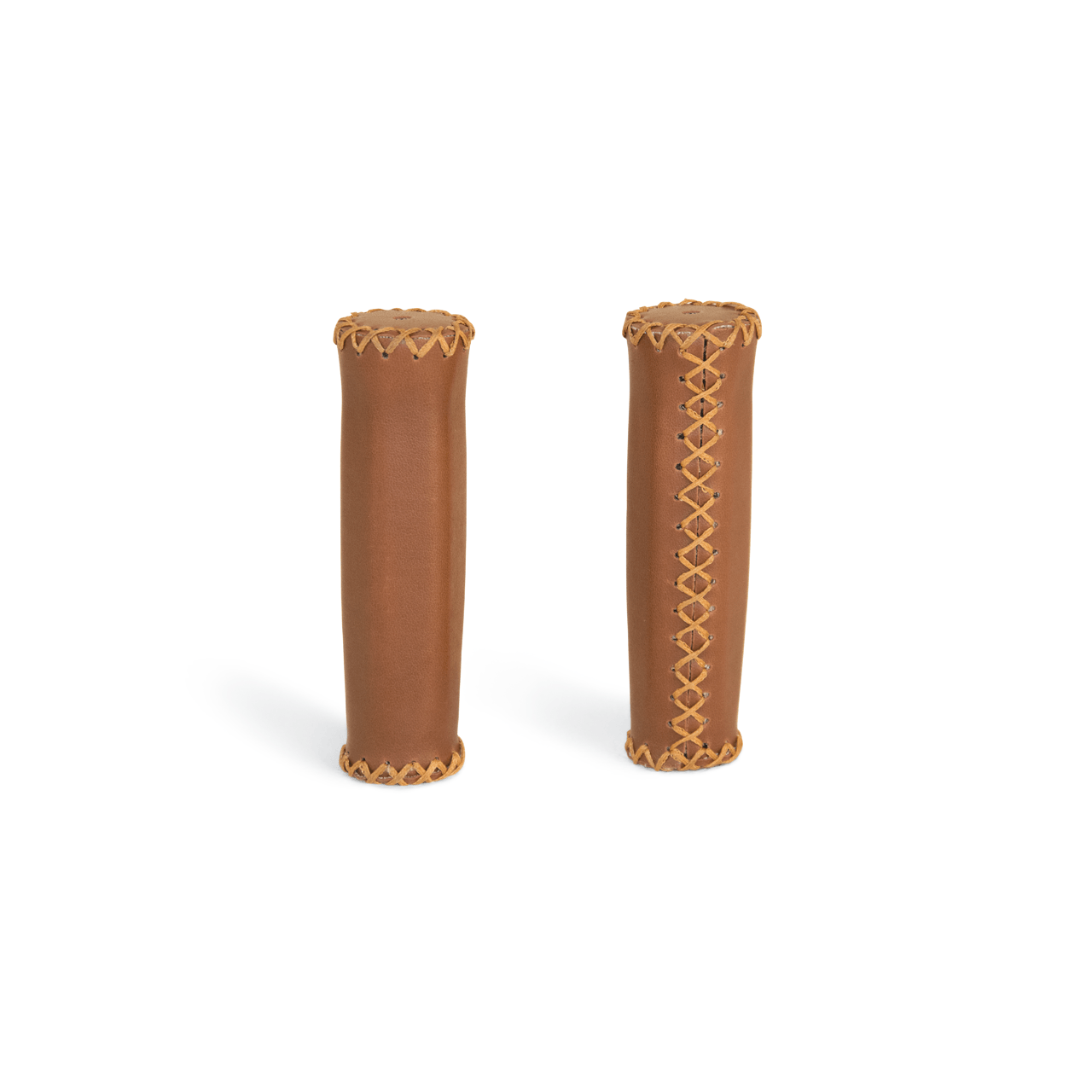Handlebar grips ergon gp1 130mm Leather Honey Brooks Fixed Bike