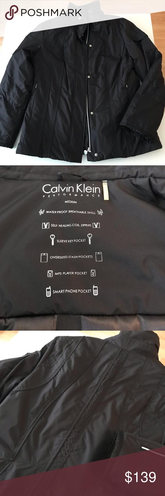 Nwot Calvin Klein Performance Puffer Jacket Coat Calvin Clothes Design Calvin Klein [ 1740 x 580 Pixel ]