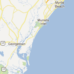 Check Out This Map Myrtle Beach North Myrtle Beach Myrtle