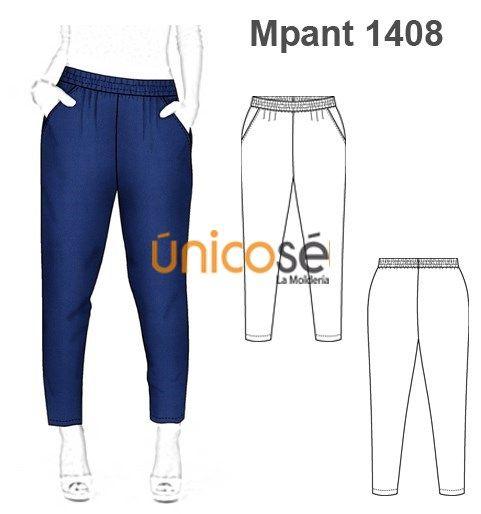 Moldes Unicose Pantalones De Moda Pantalon Bombacho Mujer Pantalones De Vestir Mujer