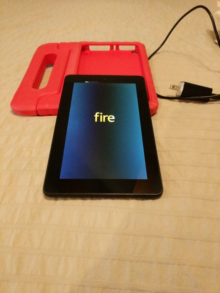 Amazon Kindle Fire (5th Generation) 8GB, Wi-Fi, 7in - Black | kindle