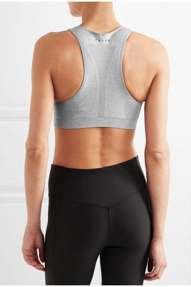Stone stretch-jersey Slips on 43% polyamide, 42% polyester, 15% elastane Machine wash Designer color: Gray Heather Imported