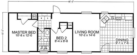 Pin by Sarah Short on Home | One bedroom house, Cabin floor plans