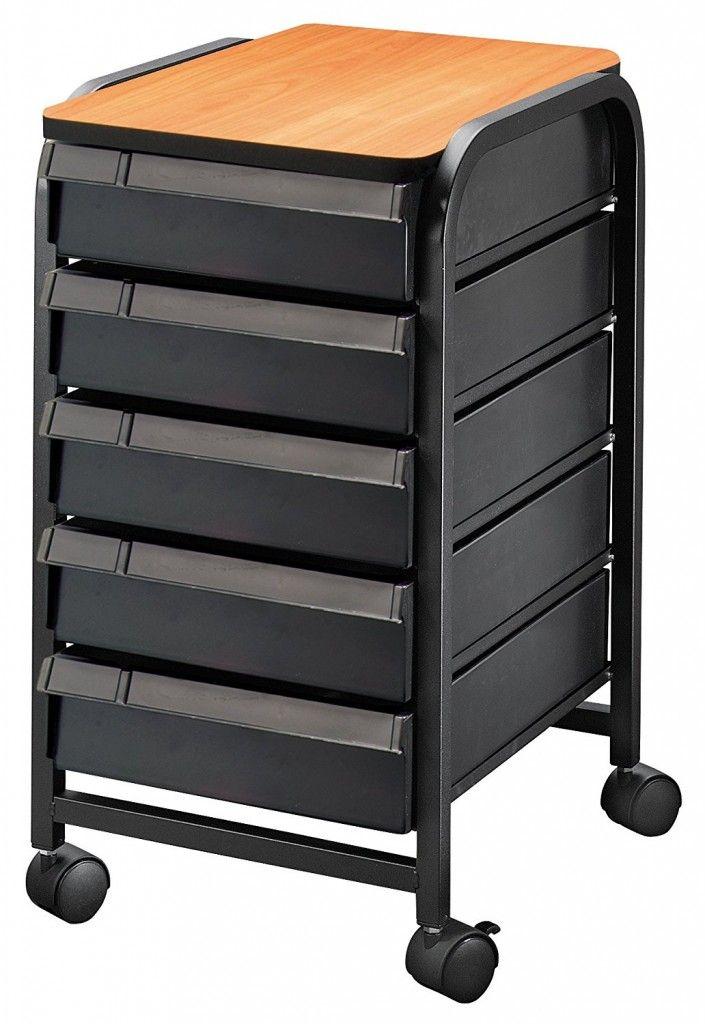 Utility Cart Walmart Mobile Organization Storage Drawers Walmart Home