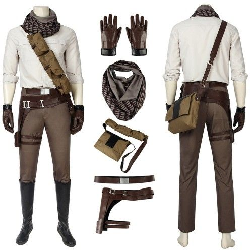 Deadpool 2 Cable Cosplay Nathan Summers Costume Halloween Men Luxury Outfits