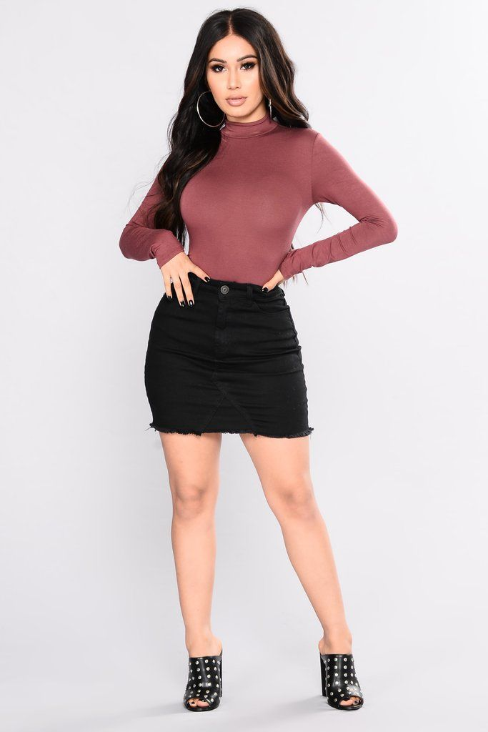 You Coming With Bodysuit - Red Brown  5969583a8