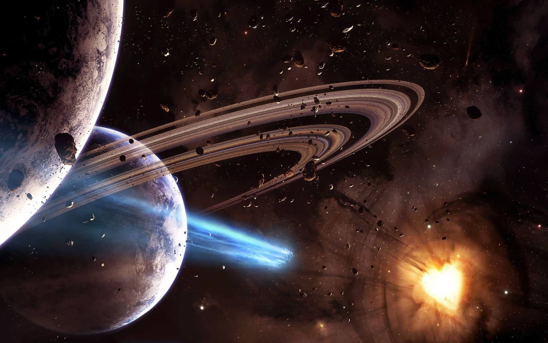 Space Planets And Universe Best Desktop HD Wallpapers