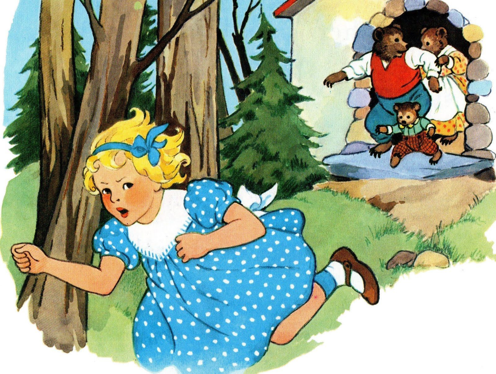 Goldilocks and the Three Bears | Obscure Scan Sunday: The Story of ...