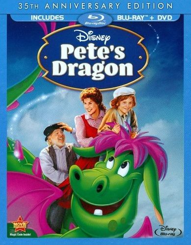 Pete's Dragon [35th Anniversary Edition] [2 Discs] [Blu-ray] [Eng/Fre] [1977] - Front_Standard