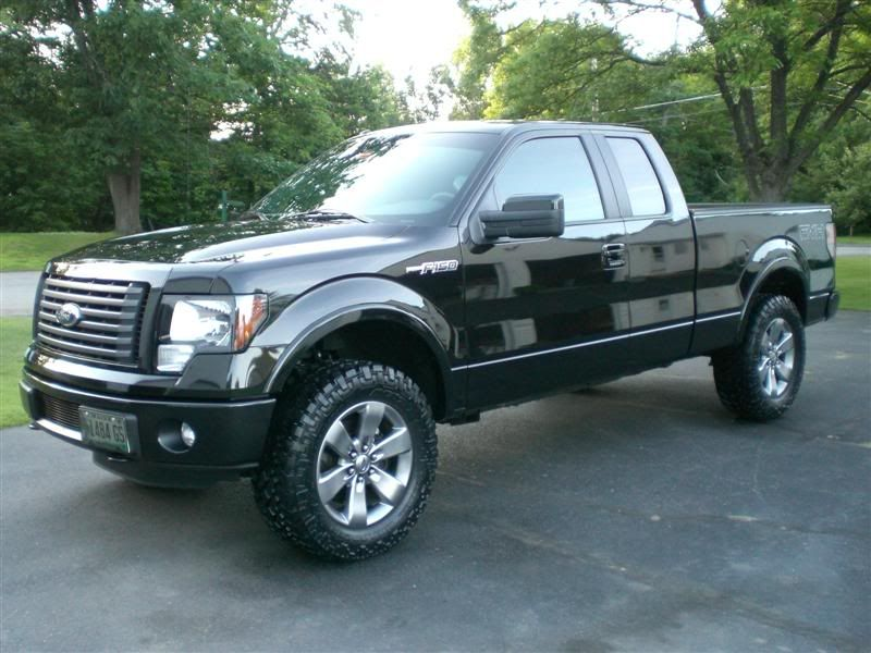 New 2014 F150 Ecoboost With 2 5 Autospring Leveling Kit 35 S