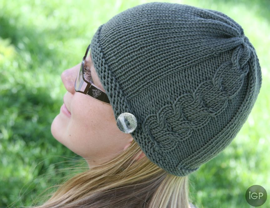 Side Cable Hat Knitting Loom Free Pattern Hats Pinterest