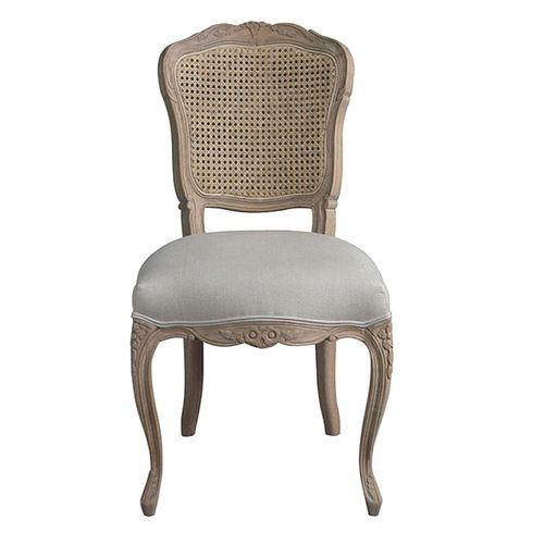 Madeleine Rattan Back Dining Chair In 2020 Oak Dining Chairs