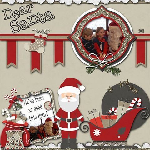 """Dear Santa, Credits:  """"Twas Christmas Collection"""" (Exclusive Quick Page, Kit, and Alpha) by Dees-Deelights Font Used:  Juice ITC  Available at  My Memories Store –  Kit:  https://www.mymemories.com/store/display_product_page?id=DDDR-CP-1411-74547 Exclusive Quick Page:  https://www.mymemories.com/store/display_product_page?id=DDDR-QP-1411-74901"""