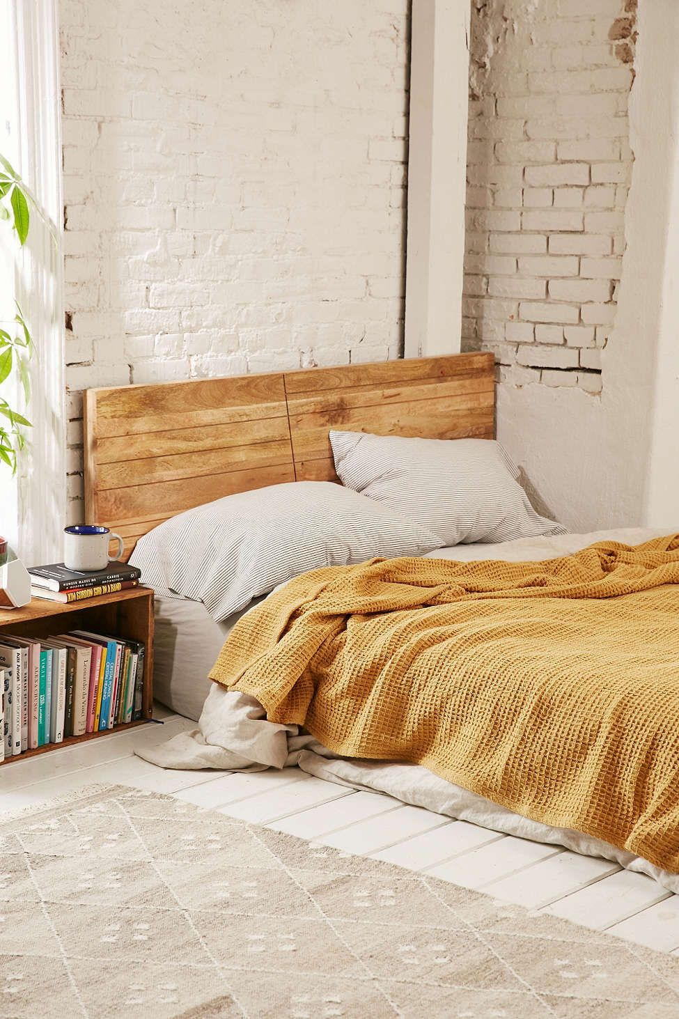 Master bedroom corner decor  Waffled Bed Blanket  Waffles Urban outfitters and Blanket