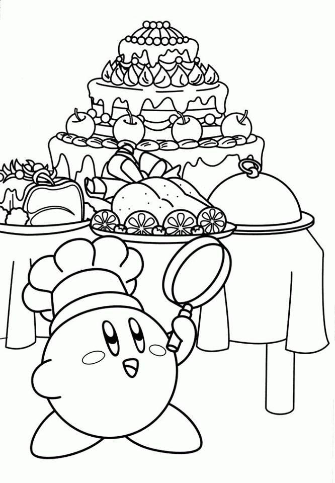 Épinglé par Crystal Berry sur Kirby party age 5 | Coloriage enfant, Dessin a colorier et ...