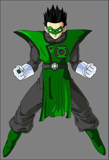 Green Lantern Gohan Pretty Cool Idea | DBZ | Anime crossover, Dragon