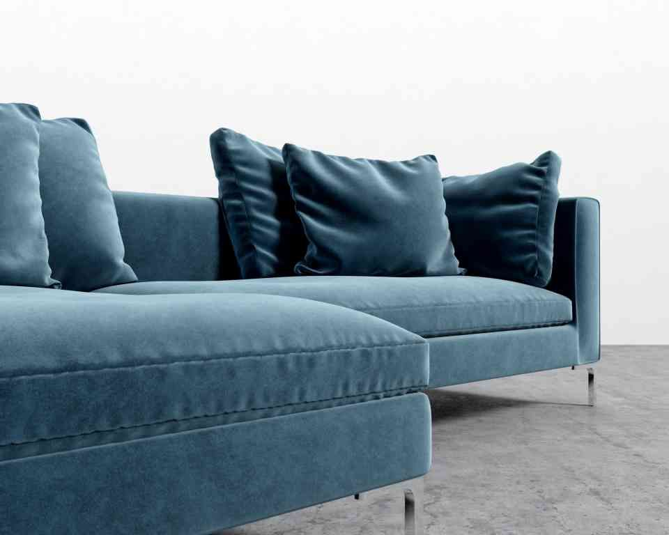 Hugo Sectional Rove Concepts Rove Concepts Mid Century Furniture