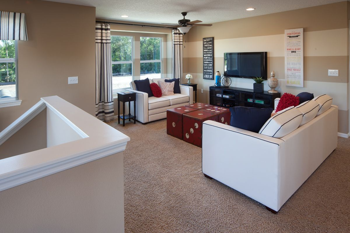 Amberly a kb home community in winter springs fl for Family game room ideas