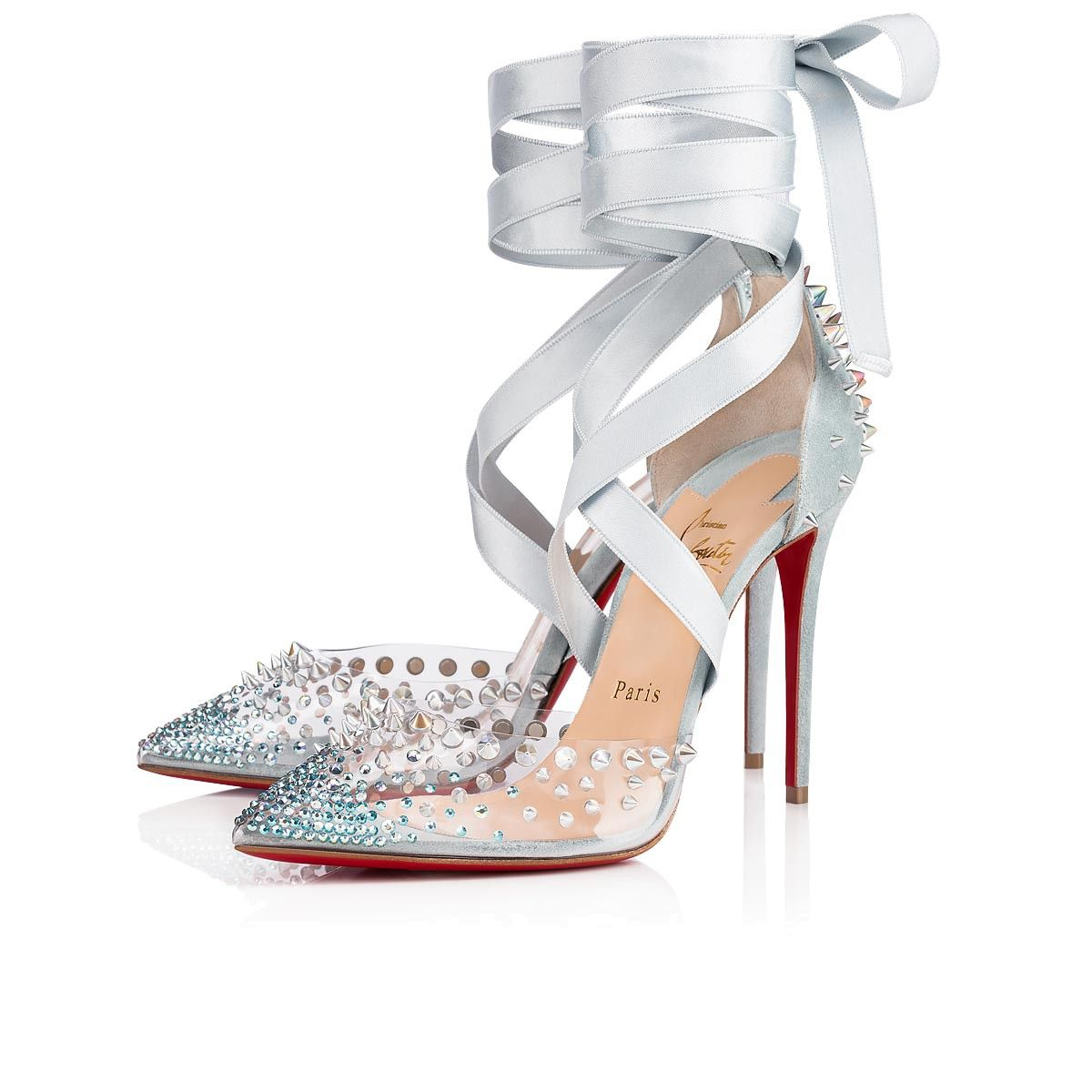 8350dc3f7860d Mechante Reine 100 Version Nuage Strass - Women Shoes - Christian Louboutin