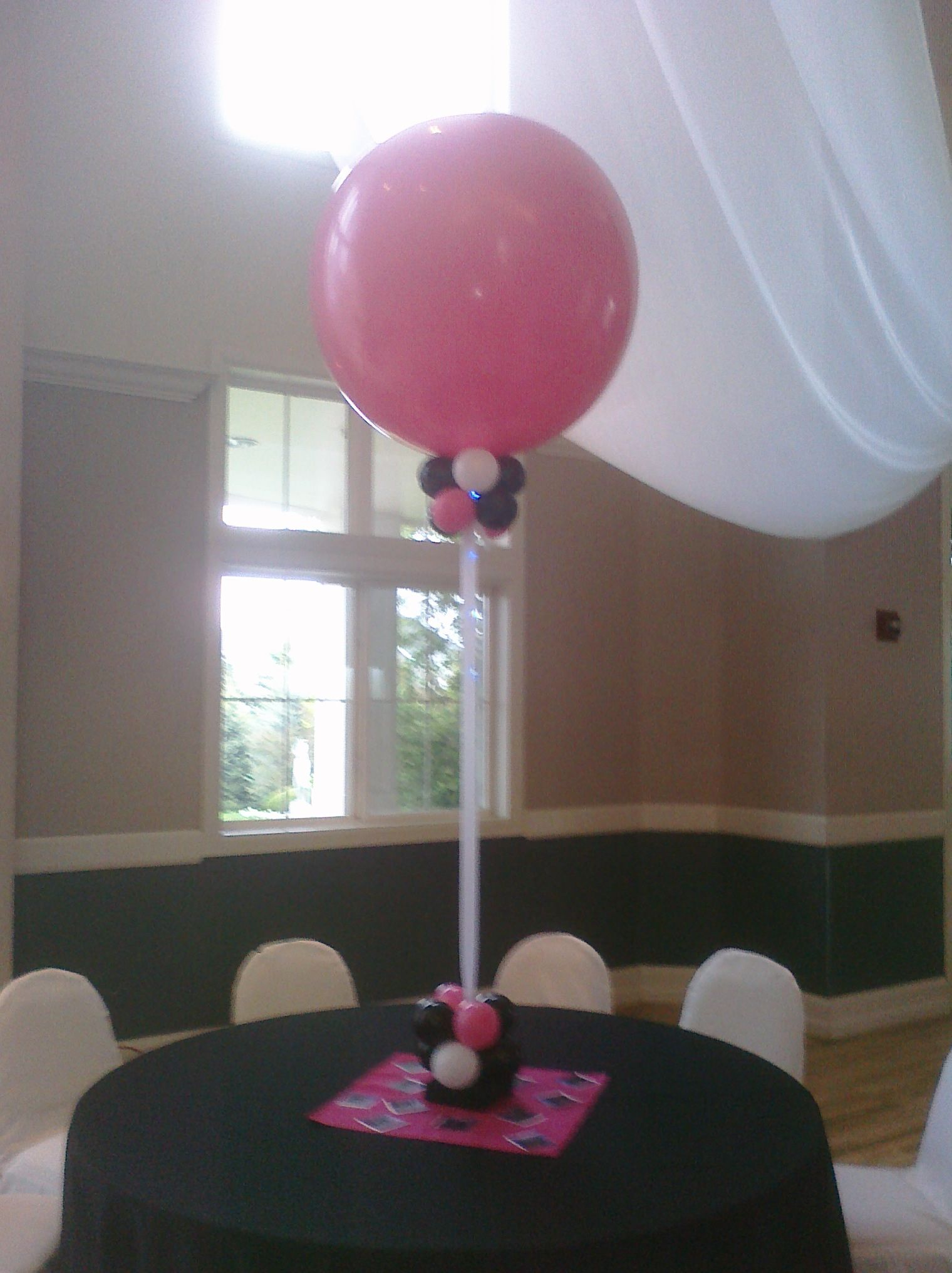 Inch balloon stand happily ever after pinterest