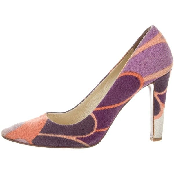 sale how much discount latest Miu Miu Multicolor Round-Toe Pumps clearance wide range of outlet with paypal sale hot sale dXpsC