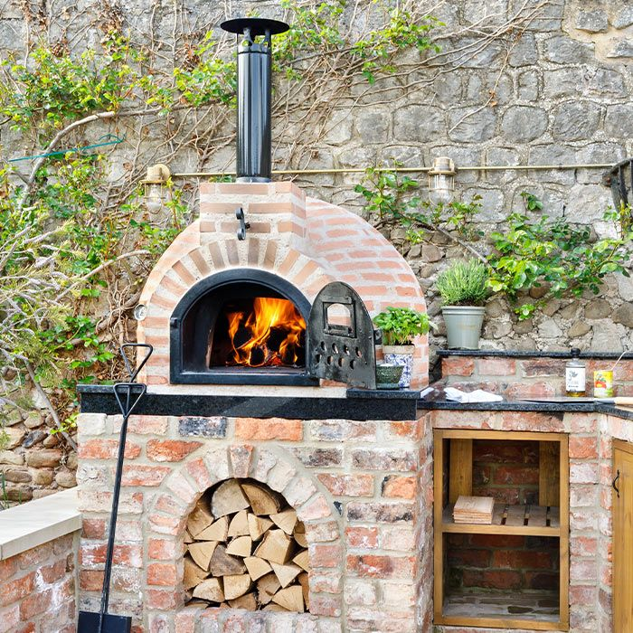 Photo of Fuego Brick 80 – Garden Wood Fired Pizza Oven