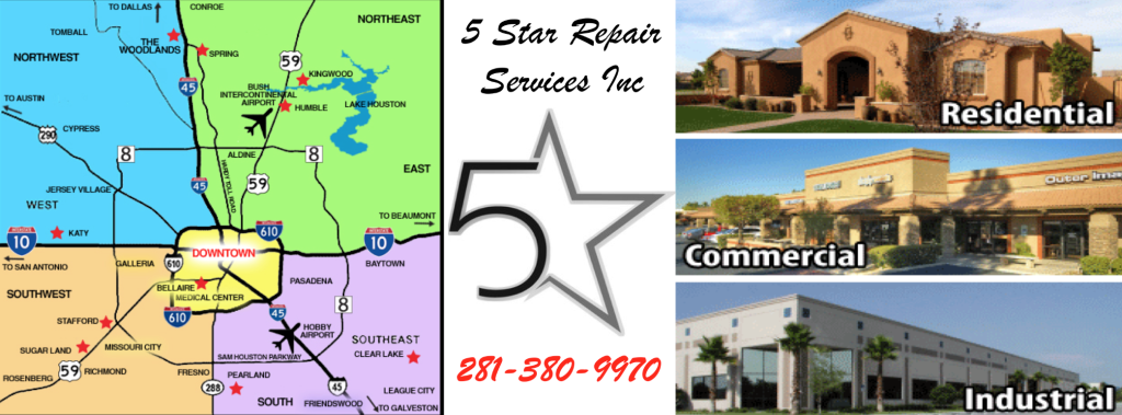 5 Star Repair Service Inc. specializes in air conditioning