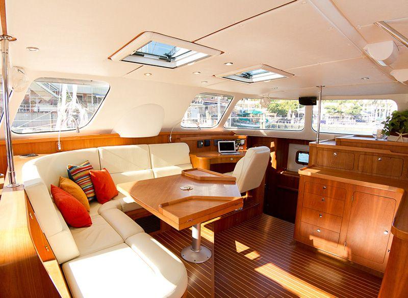 Catamaran Interior Layout Sailing Pinterest