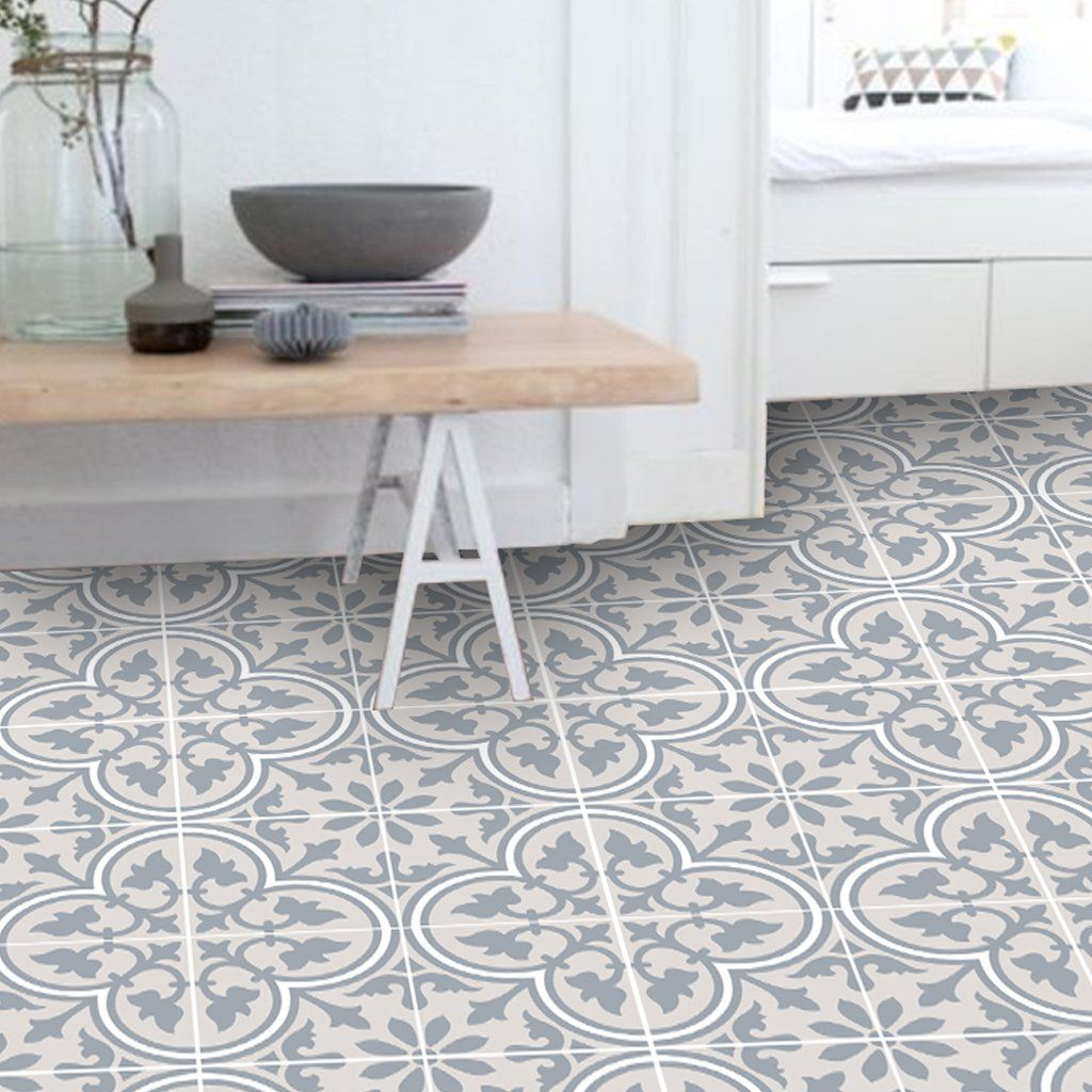 Trefle In Sand Floor Sticker Vinyl Flooring Tile Floor Flooring