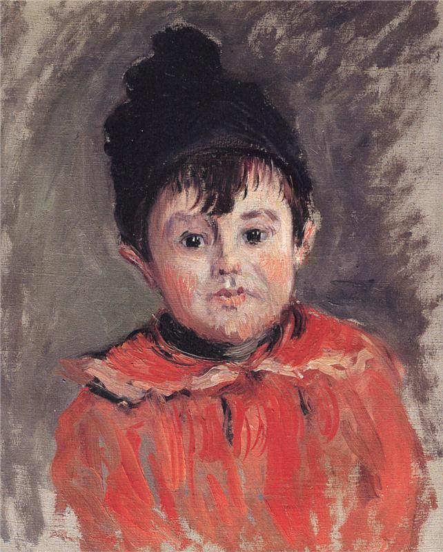 """Résultat de recherche d'images pour """"les enfants peints par monet"""""""