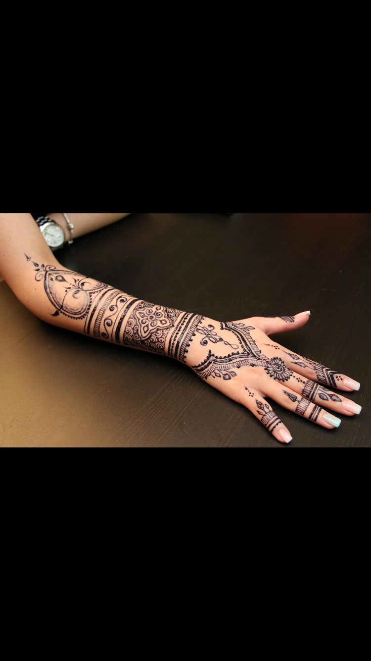 Does A Henna Tattoo Cost: HENNA @jadore_inspire (google Images)