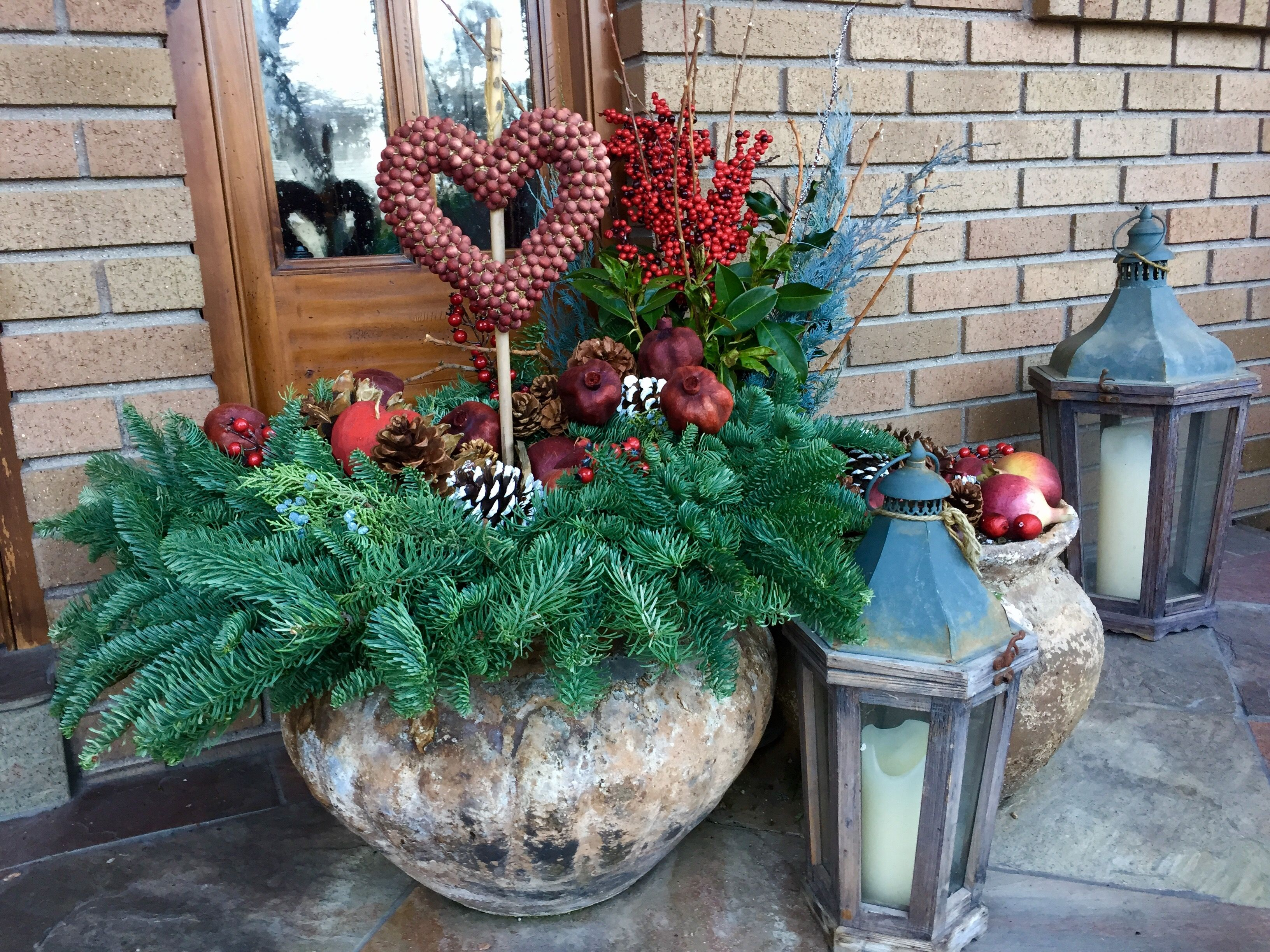 Valentine Planters By Darris Howe Valentines Outdoor Decorations