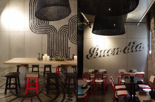 Bar Interiors Design Painting Méjico Restaurant & Bar  Sydney Australiajuicy Design  Bar .
