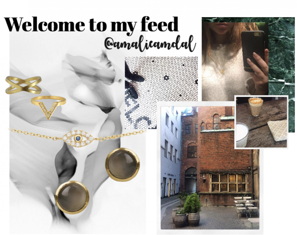 Styling by amalieamdal showing Evil Eye Bracelet Gold, Bubble Ear Studs Grey Small Gold, Cross Ring Gold and Triumph Zirconia Ring Gold #jewellery #Jewelry #bangles #amulet #dogtag #medallion #choker #charms #Pendant #Earring #EarringBackPeace #EarJacket #EarSticks #Necklace #Earcuff #Bracelet #Minimal #minimalistic #ContemporaryJewellery #zirkonia #Gemstone #JewelleryStone #JewelleryDesign #CreativeJewellery #OxidizedJewellery #gold #silver #rosegold #hoops #armcuff #jewls…