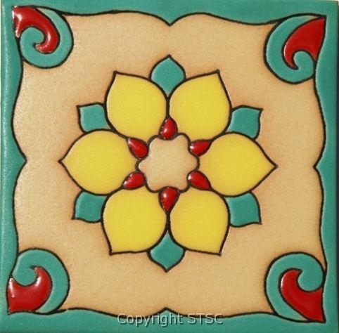 Decorative Bullnose Tile Trim Adorable Mosaicos Mexicanos …  Pinteres… Inspiration Design