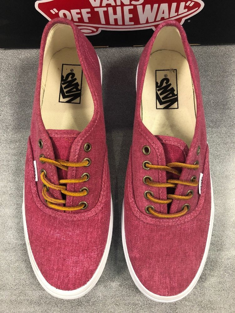 6039e3a950 New With Box Vans Authentic Slim Shoes Mens Size 8.5 Womens Size 10   fashion  clothing  shoes  accessories  unisexclothingshoesaccs   unisexadultshoes (ebay ...