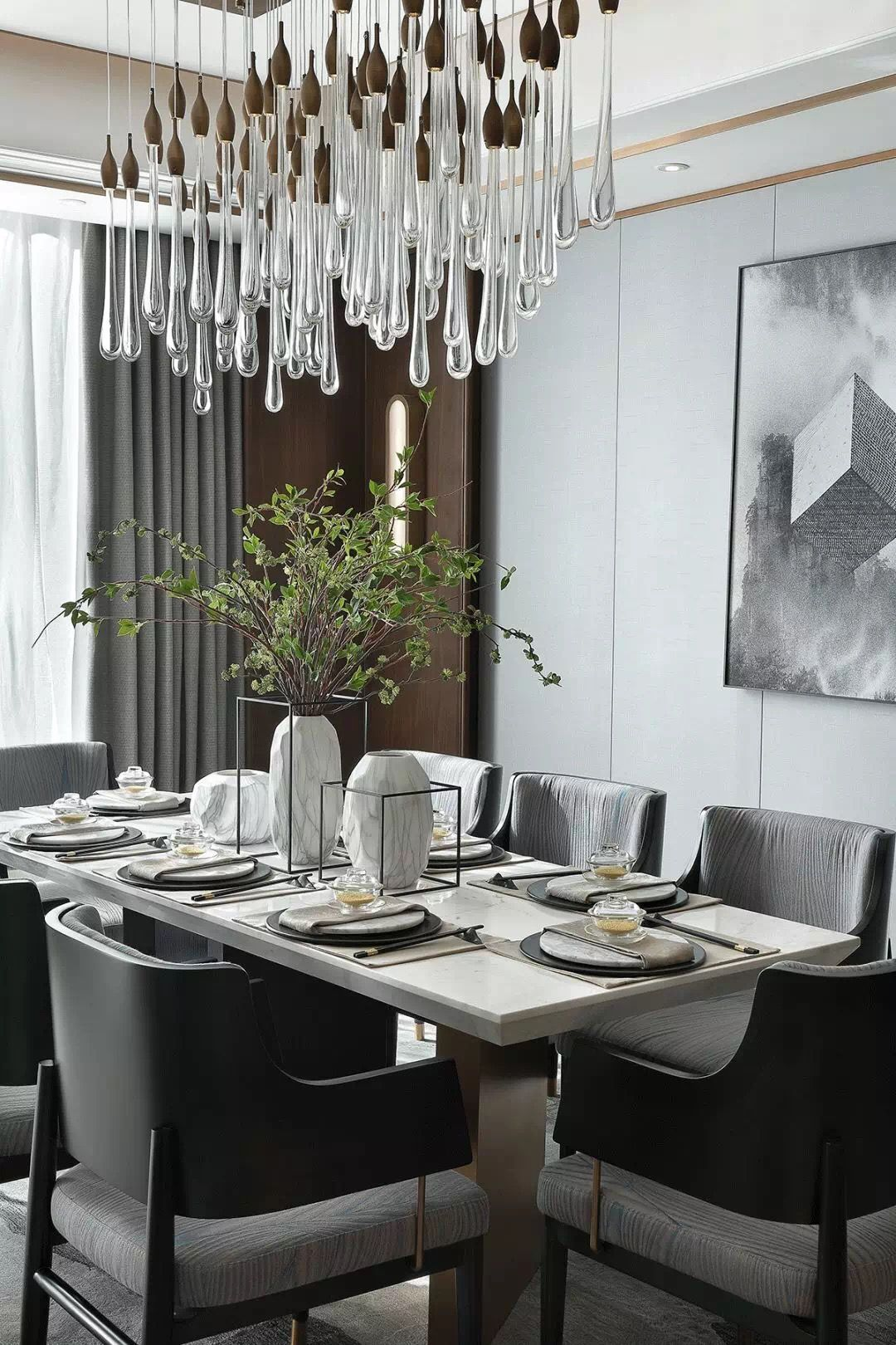 Bring Some Furniture Into Your Interior Design Project Download Our Catalogue To Find The Per Luxury Dining Room Interior Design Dining Room Black Dining Room