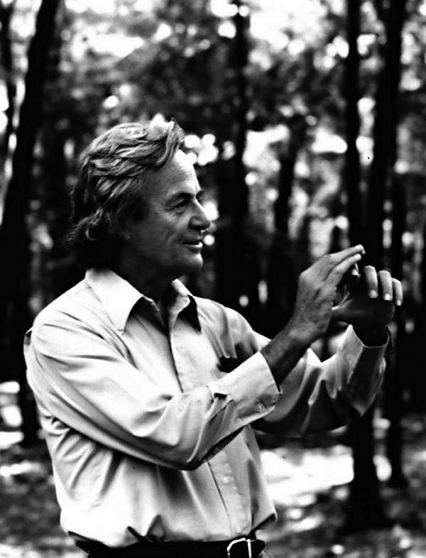 Richard Feynman - Physicist and drummer