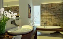 Zen Badezimmer Design Fotos Waschbecken Badezimmermobel