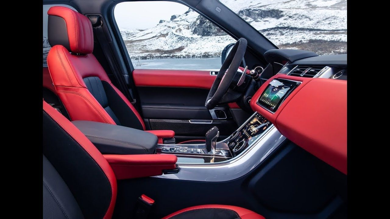 2020 Land Rover Range Rover Sport HST Interior Exterior