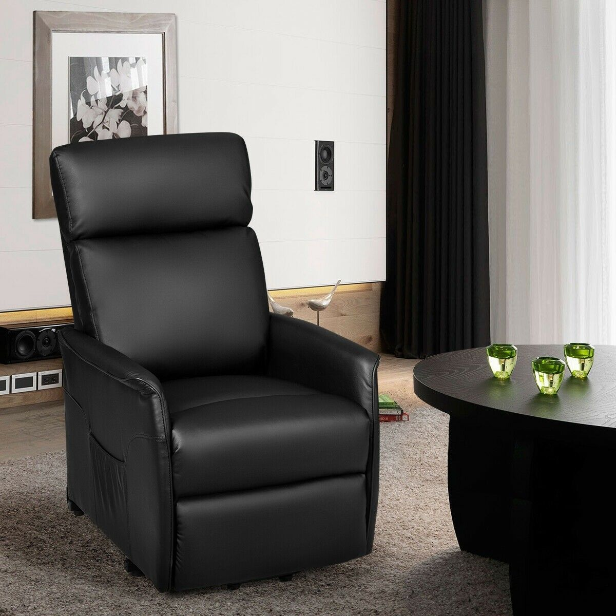 Electric Power Lift Recliner Chair With Remote Control Lift Recliners Chair Recliner