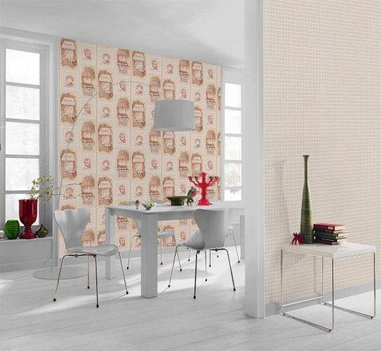 Tapete beige Küche Aqua Relief Rasch 819410 Küche - tapeten rasch k che