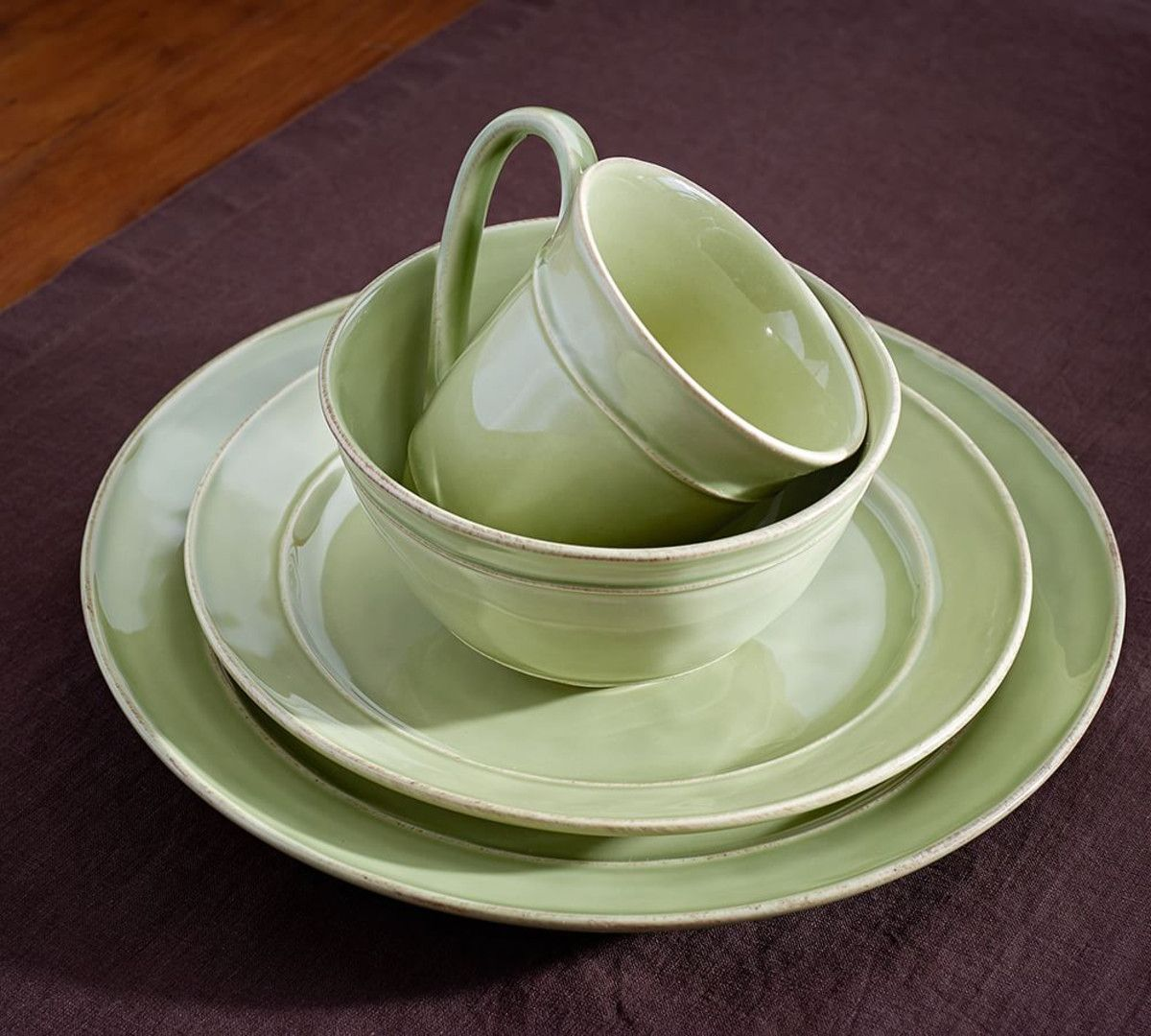 Cambria Dinnerware - Mint & Cambria Dinnerware - Mint | Apartment Stuff | Pinterest | Dinnerware ...
