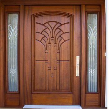 Solid Exterior Flat Teak Wood Main Double Front Entry Door Design Buy Wooden Main Doo Wooden Main Door Design Front Door Design Wood Wooden Front Door Design