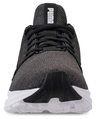 da4a494666a3 Puma Men s Enzo Street Knit Casual Sneakers from Finish Line - Black ...