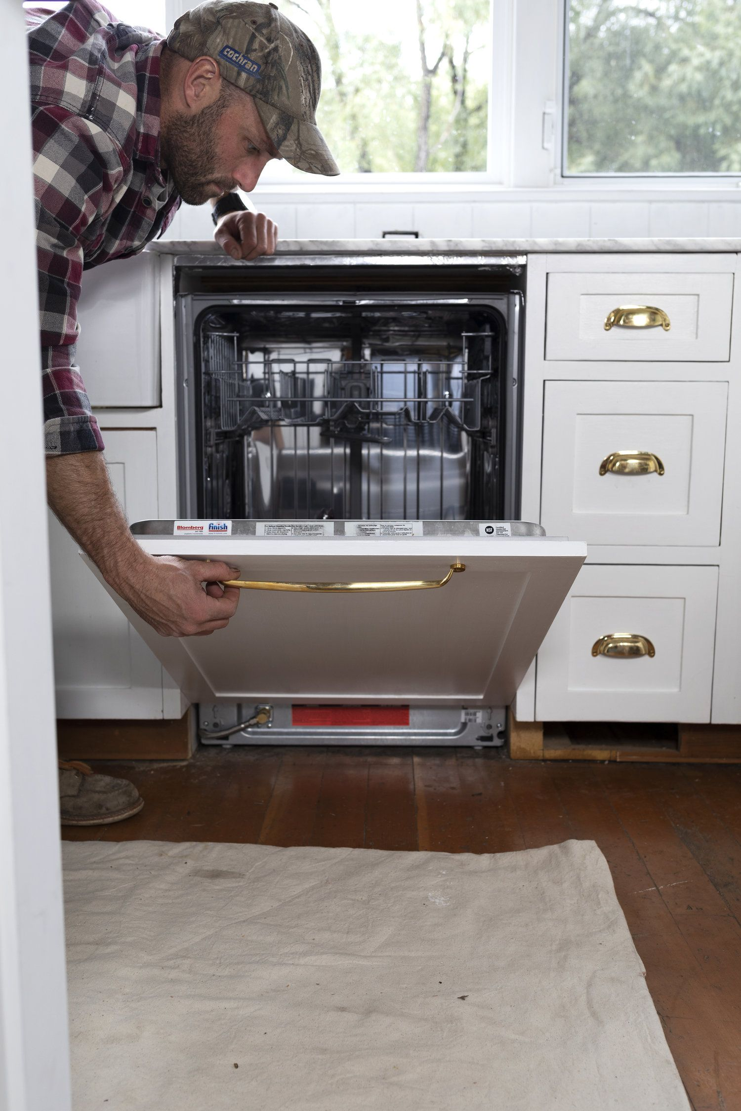 How To Diy A Panel Ready Dishwasher What Ours Cost Cost Of