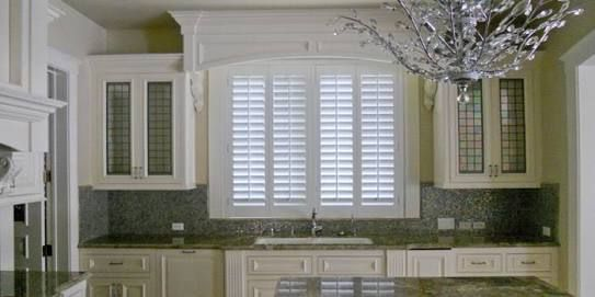 window treatments with shutters - Google Search