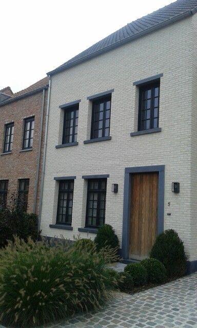 Het bewijs dat er prachtige nieuwbouw rijwoningen zijn for Kleine huizen bouwen