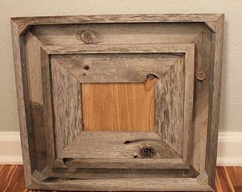 reclaimed wood frame set inside a shadowbox frame reclaimed wood reclaimed wood frame wood frame rustic rustic home decor wood by csquaredcustoms on